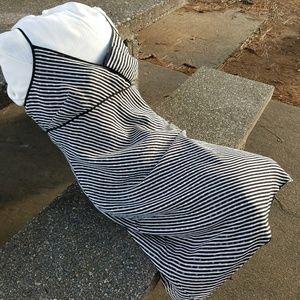 Ann Taylor Silk on Poly Strap Dress. Simply Sexy